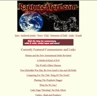 Rapture Alert website